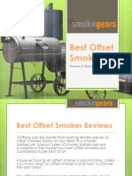 Top 10 Best Offset Smokers