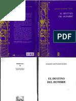 Fichte, J.G., El Destino del Hombre. Sígueme..pdf
