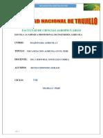 Mecanizacion Agricola en El Peru (1)