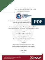 Rivera-Desempeño Policial en El Conflicto de Pichanaki