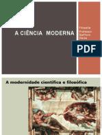 Nobre.2º ANO.I Unidade.2014.a Filosofia Moderna