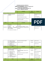 Cronograma de Actividades Auditoría III