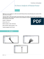 3D Construction + Stress Analysis