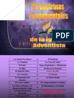 Tema 28 Doctrinas Fundamentales