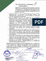 Pronunciamiento Comunidades Campesinas de Piura