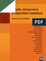 Estado, democracia y seguridad ciudadana