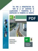 Normativa Infraestructura Del Transporte SCT 1 30102014