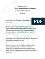 Discurso Ecofin