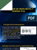 Indicador de Imán Móvil y Bobina Fija Expocicion