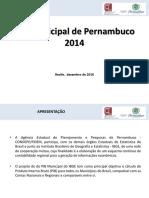 2014 - PIB Municípios de Pernambuco
