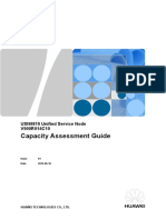 USN9810 V900R014C10 Capacity Assessment Guide