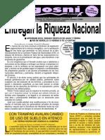 KGOSNI 153-ENTREGAN LA RIQUEZA NACIONAL.pdf