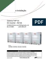 Manual de Instalação Tvr Lx(Tvr-svn052a-Pb)