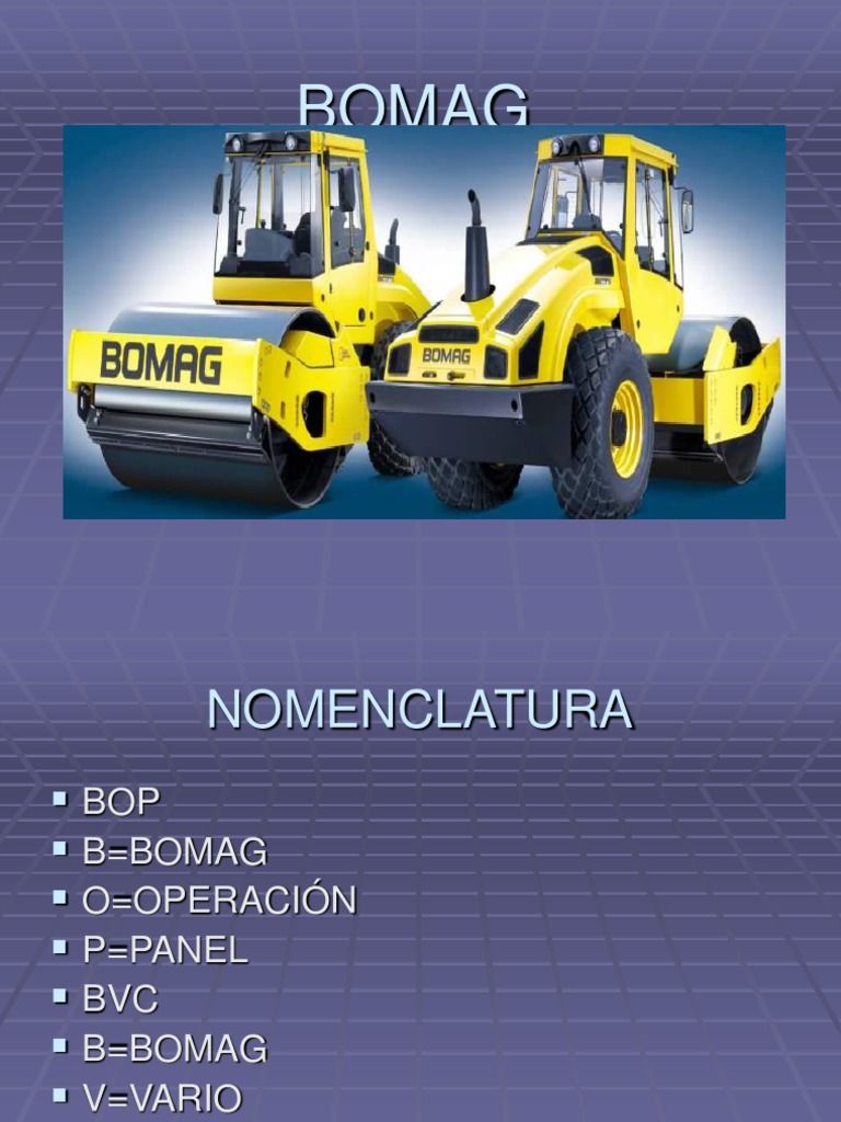 Bomag Course Wiring Diagram