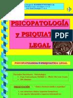 Psiquiatría y Psicopatología Legal