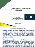 Redes Regionales y Sociales Unidad I