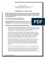 """Peralta Colleges """"Proposition A """" 2009 - AC Transit EasyPass"""