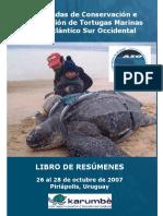 IV Reunión sobre la Investigación y Conservación de las Tortugas Marinas del Atlántico Sur Occidental (ASO)