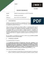 039-15 - UGEL 07 - Constancia de Prestacion (T.D. 5991263-2014)