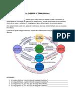 TRANSFORMACIONES DE ENERGÍA 6°