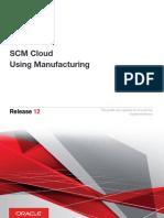 SCM Cloud Using Manufacturing