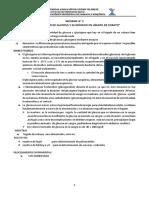 Practica Nº 3 Determinación de Glucosa y Glucógeno en Hígado de Cobayo Bioquimica II