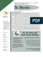 April 2005 Warbler Newsletter Broward County Audubon Society