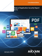 State of Application Security 2016 Consolidated Report