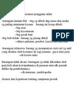 PP1-Klafikasi Produk Konsumer i