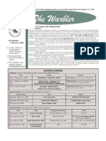 February 2006 Warbler Newsletter Broward County Audubon Society