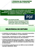 Artigo - Poeiras Vegetais de Madeira