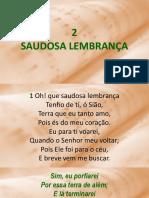 02 - Saudosa Lembrança.ppsx
