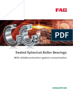 Fag Sealled Spherical Roller BEarings