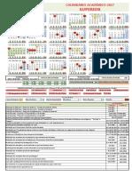 Calendario Academico 2017 Ifba Campus de Paulo 1