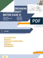 Studi Kasus 3 _ Analisa Kerusakan Pada Steering Shaft Motor