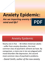 Anxiety Epidemic