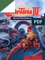 Guia Castlevania IV