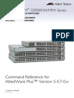 Gs900mx Command Ref 5.4.7-0.x Reva