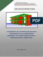 2.- Memoria Calculo de Estruct IE CANTA AGRO