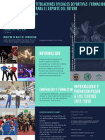 Fek - Csd 2017 Folleto ... Fak ... 2018