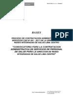 Modelo de Bases Convocatoria Cas Nº 001-2017