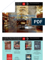 Libros donados por Daniel Fernández a TVN