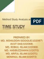 Method Study Analysis & Charts