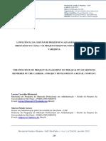 A INFLUÊNCIA DA GESTÃO DE PROJETOS NA QUALIDADE DE SERVIÇOS PRESTADOS.pdf