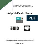 México- LPI Adquisición de Bienes