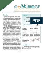 May 2007 Skimmer Newsletter Southeast Volusia Audubon Society
