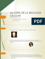 Historia de La Biologia Celular
