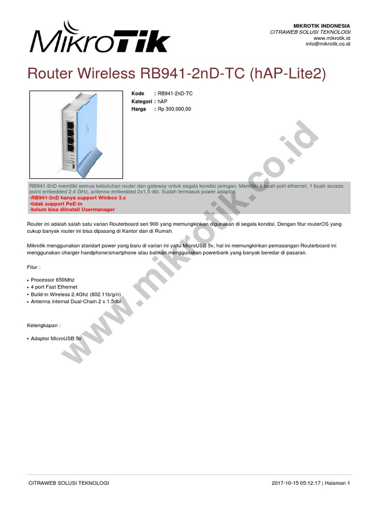Brosur Rb941 2nd Tc 20171015