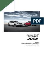 Ficha Tecnica Peugeot 2008