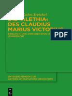 """Die """"Alethia"""" des Claudius Marius Victorius"""